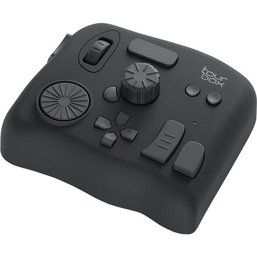 SAI Premiere Adobe Lightroom and More Black Tourbox Photo and Video Editing Console Advanced Controller with Customized Creative inputs to Simplify and optimize The Adobe Photoshop