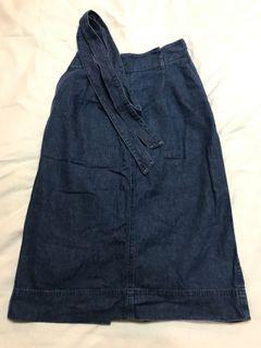 Uniqlo Denim Skirt - Size XS to Small