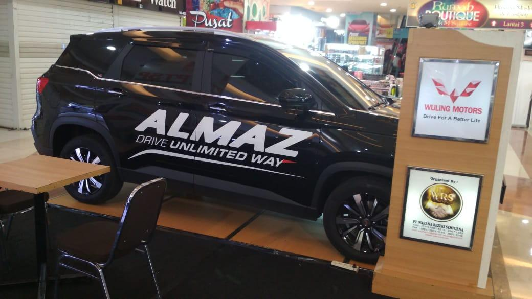 Wuling Almaz 1.5 LT Lux SC CVT