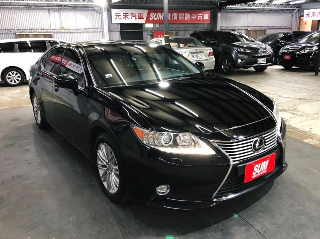 2014 Lexus ES350 3.5 頂級旗艦款 原廠曜石黑