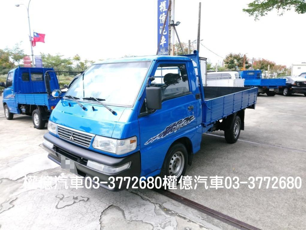 已換正時皮帶 2007年 得利卡貨車 DELICA 2.0 中華三菱 得力卡 2.7噸 二噸半 小貨車 發財車 9尺半 中古貨車