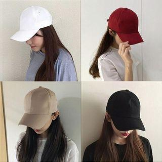 黑色老帽 黑色棒球帽