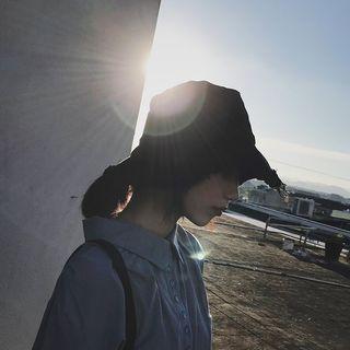 深紫色漁夫帽 漁夫帽
