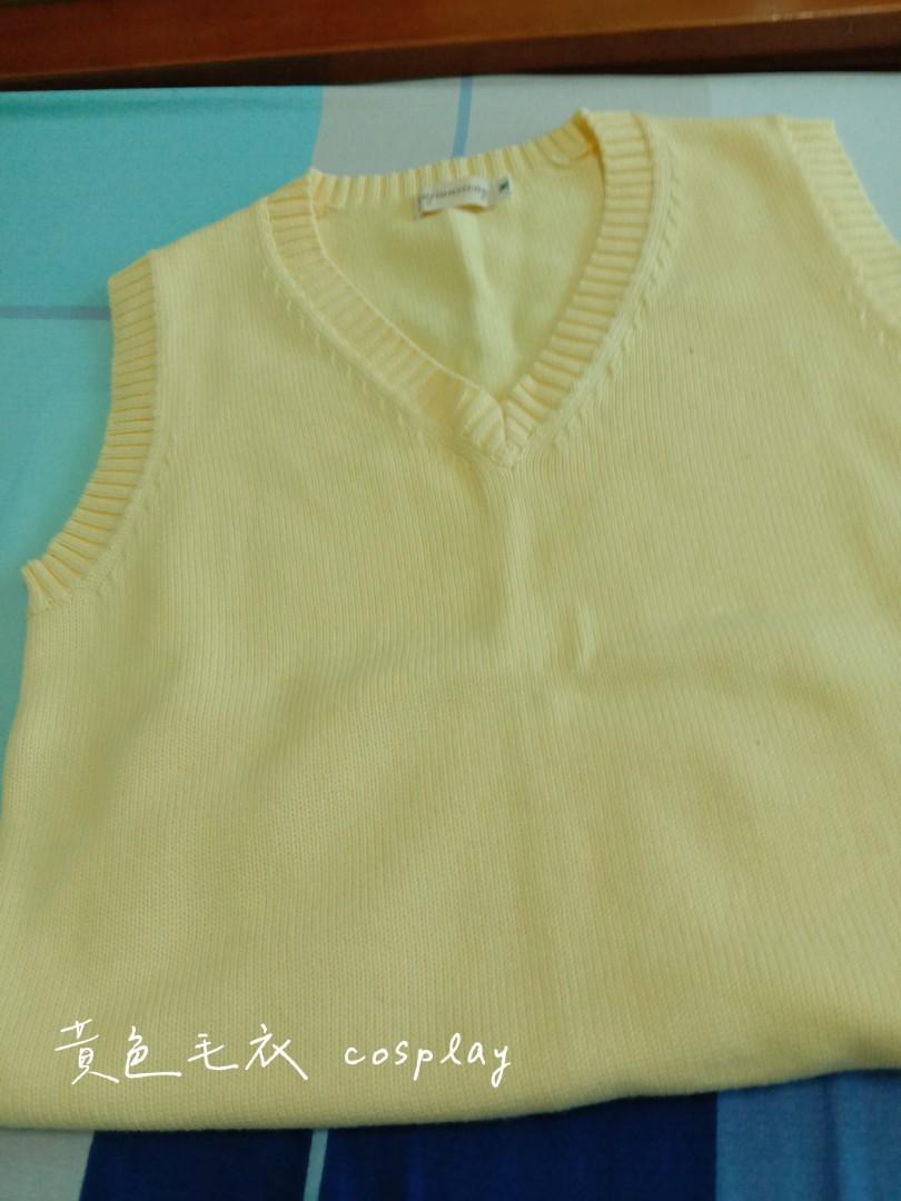 黃色毛衣 cosplay