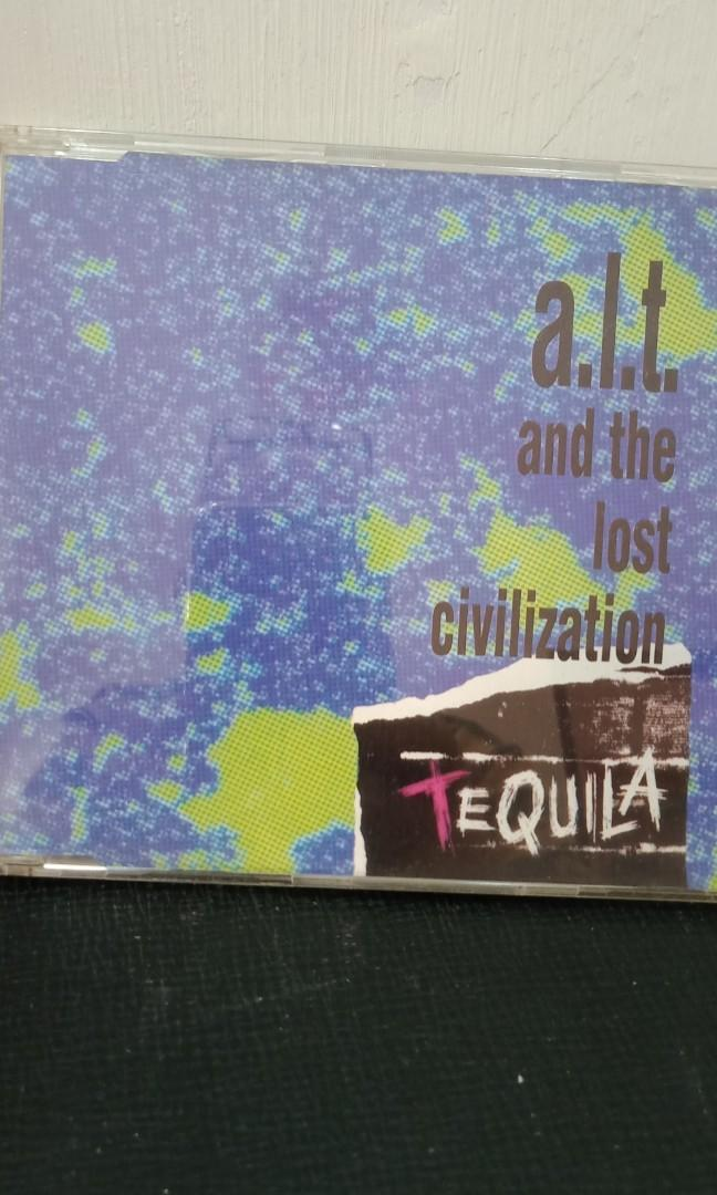 a.l.t.and the lost civilization (TEQUILA)單曲