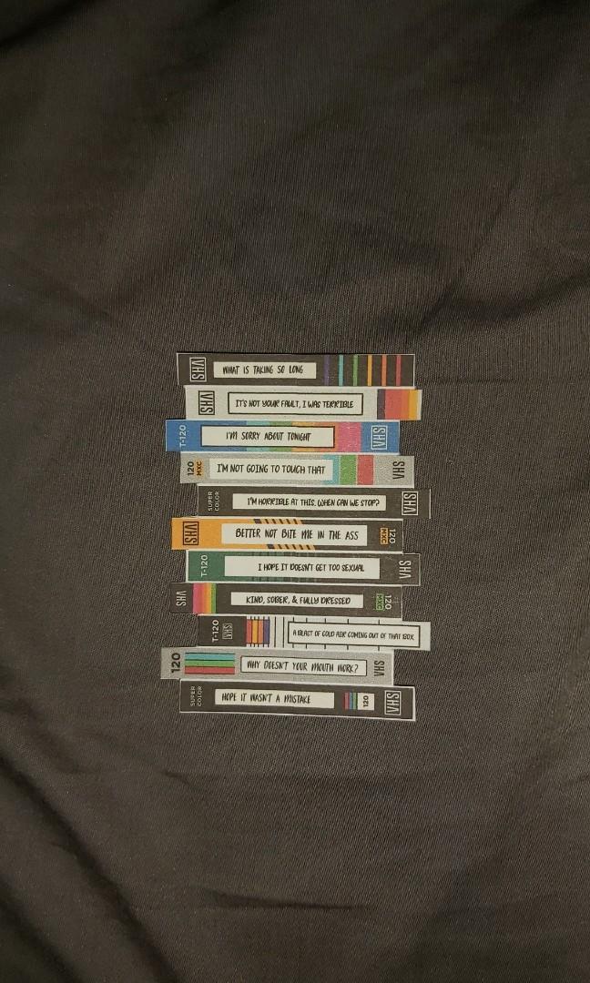 Brooklyn Nine-Nine Tapes Sticker