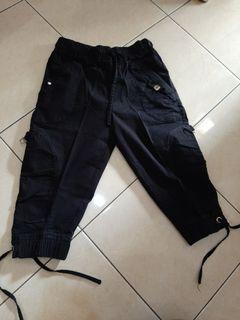 Celana hitam 3/4 #bersih2021