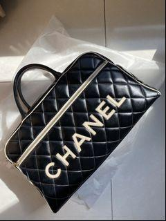 Chanel 保齡球包 /旅行機場包
