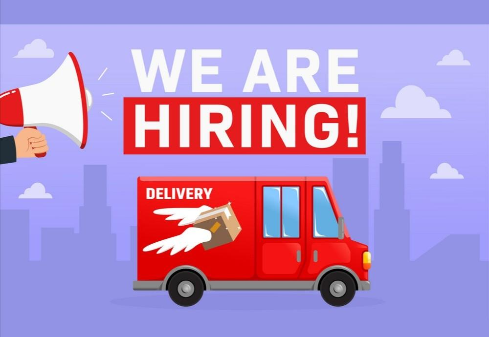 Delivery driver Hiring