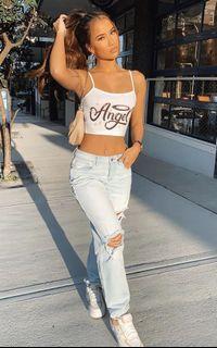 Fashion Nova Mid-Rise Boyfriend Jeans