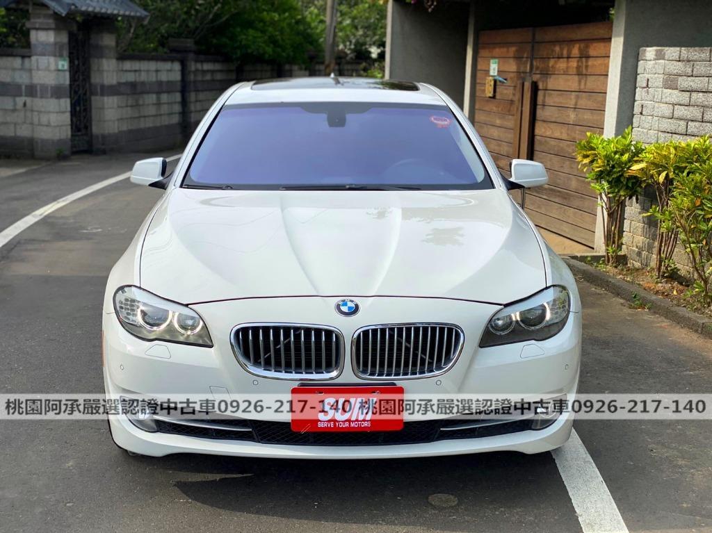 【FB搜尋桃園阿承】寶馬 超人氣528I 2012年 2.0CC 白色 二手車 中古車