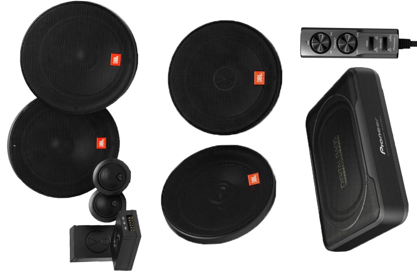 Jbl X Pioneer Audio Package Car Accessories Accessories On Carousell