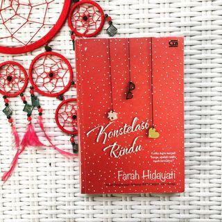 Konstelasi Rindu - Novel by Farah Hidayati