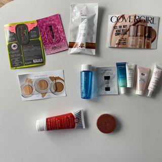 Luxury makeup/skincare deluxe samples/full size