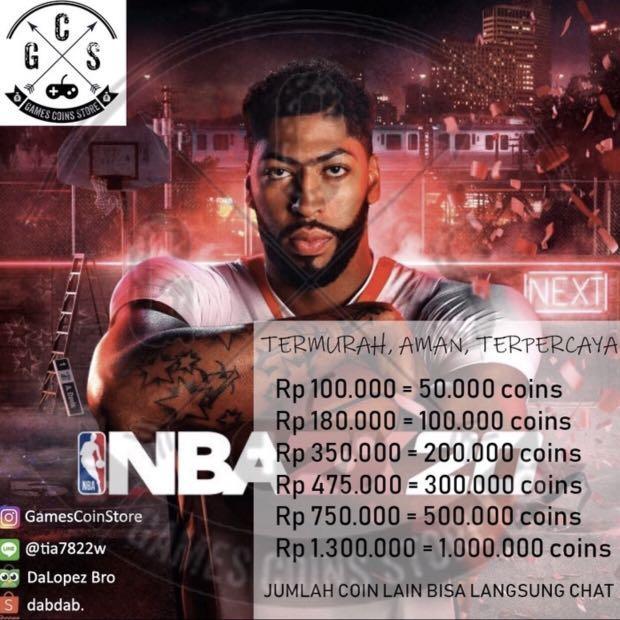 NBA 2k20 MT PS4 Coins