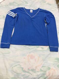 Original, Adidas 3 stripes long sleeve tshirt