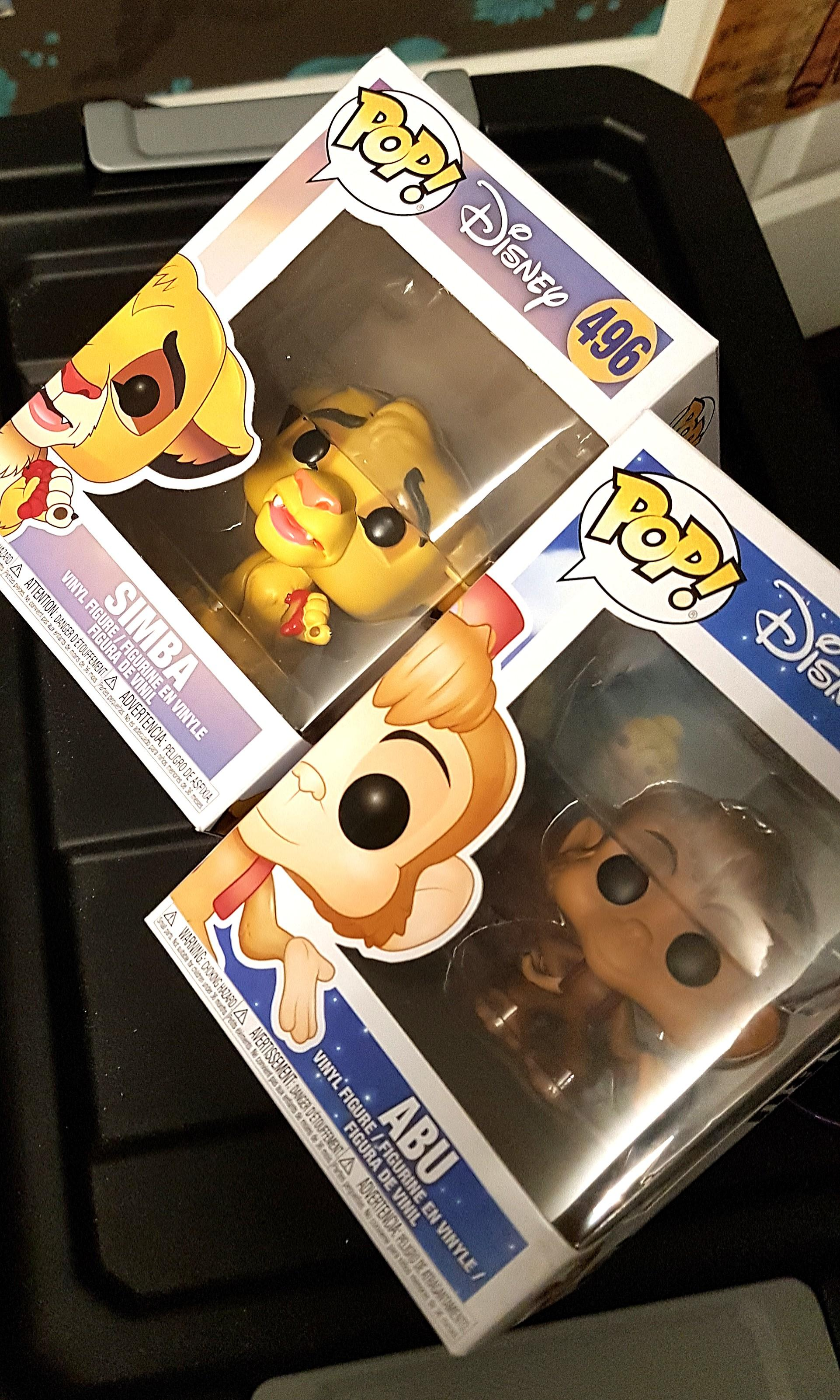 Pop Vinyl Figures - Simba and Abu