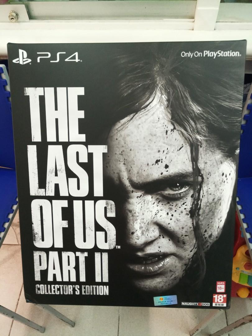 PS4 Game - The Last of Us Part II Collector's Edition Reg All
