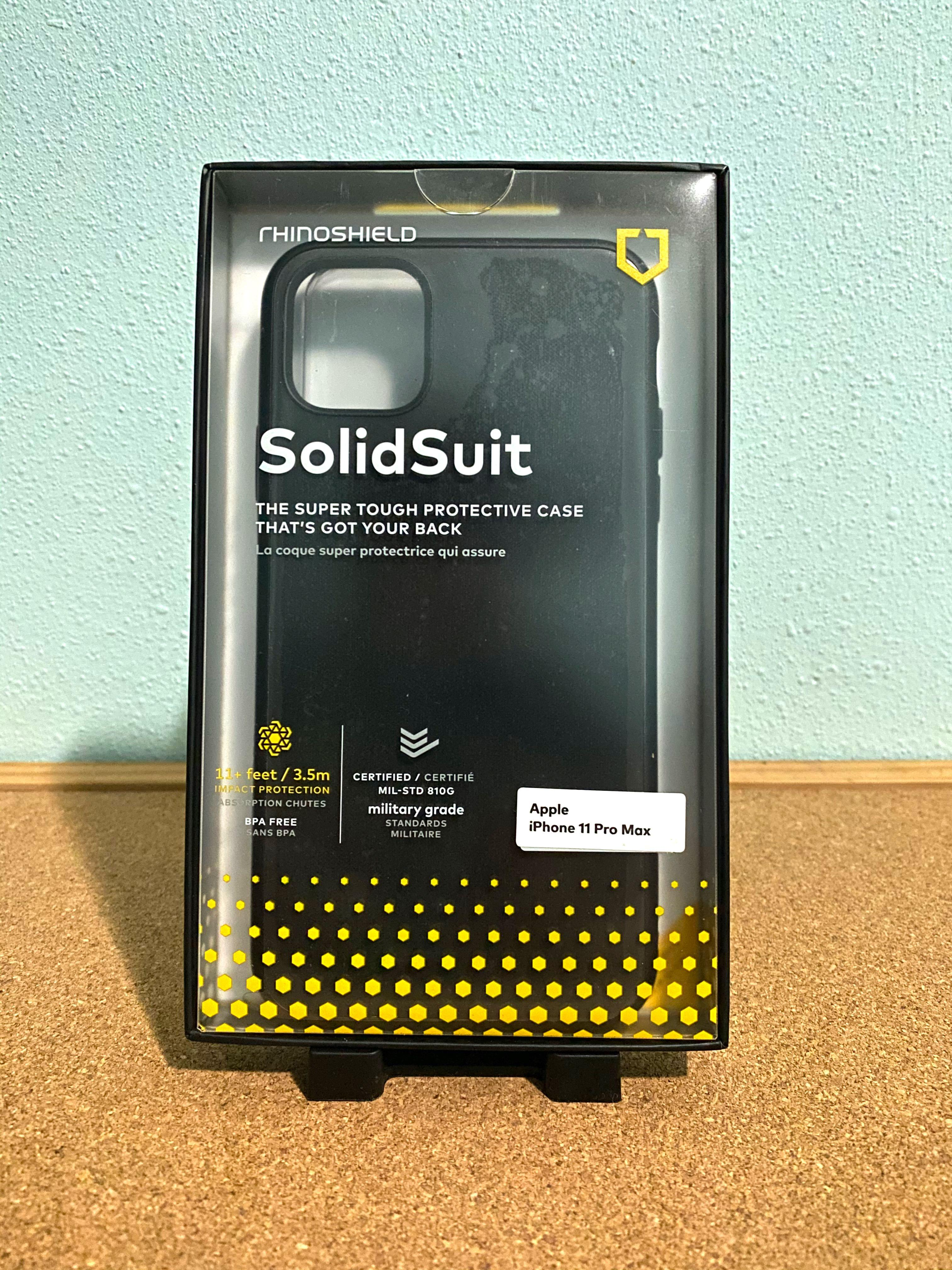 Rhinoshield Solidsuit Iphone 11 Pro Max Mobile Phones Tablets Mobile Tablet Accessories Cases Sleeves On Carousell