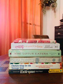 Take all books for 399! Chicken Soup, Love Story etc
