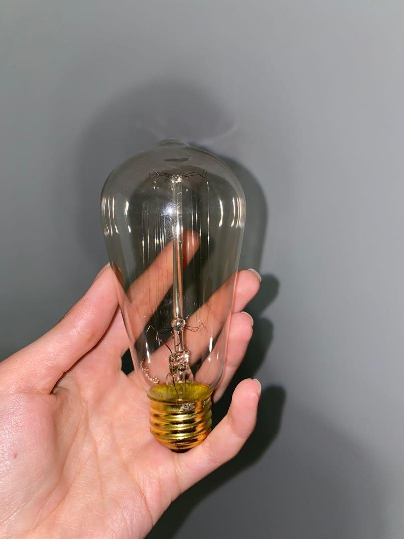 Vintage lightbulb