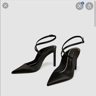 Zara slingback heels