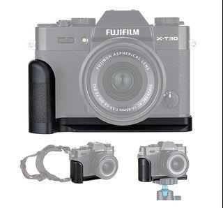 全新 富士 FUJIFILM  X-T30 XT30 X-T20 XT20 X-T10 XT10 適用 JJC HG-XT30 鋁合金 手柄 握把 底座