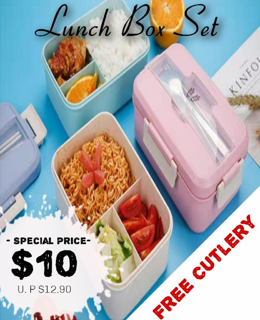 Microwave Safe Lunch Box