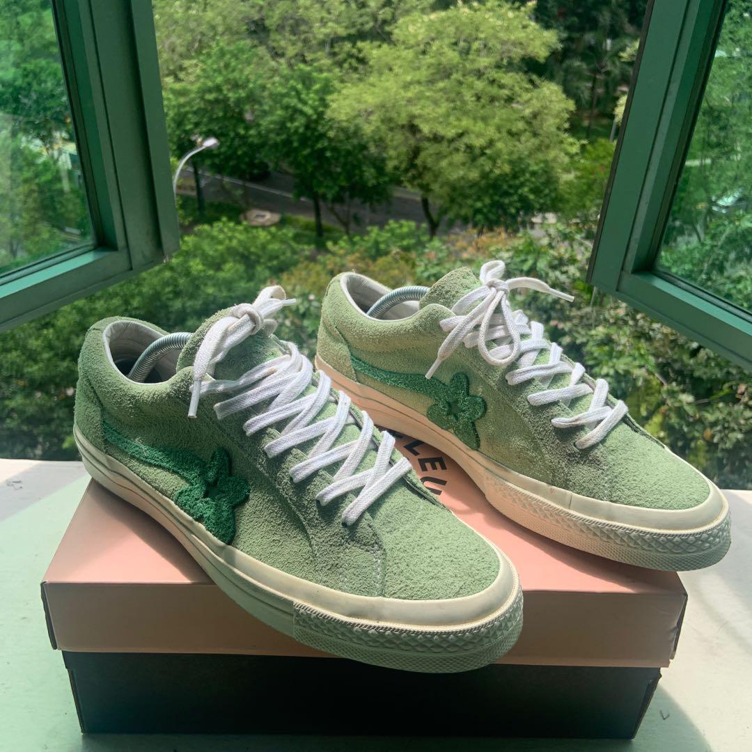 Converse Golf le Fleur Jade Lime, Men's