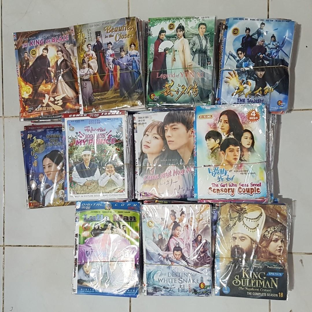 DVD film drama china