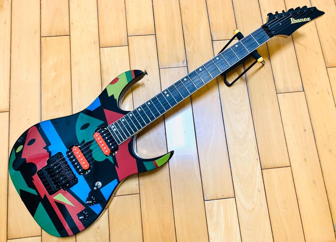 Ibanez JPM style guitar custom made (not real)