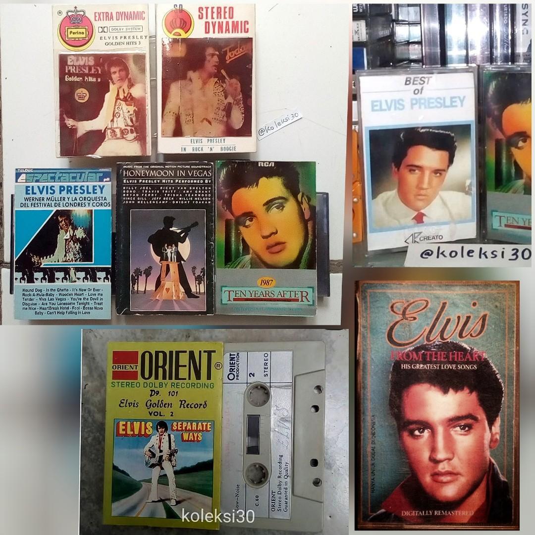 Kaset Elvis Presley