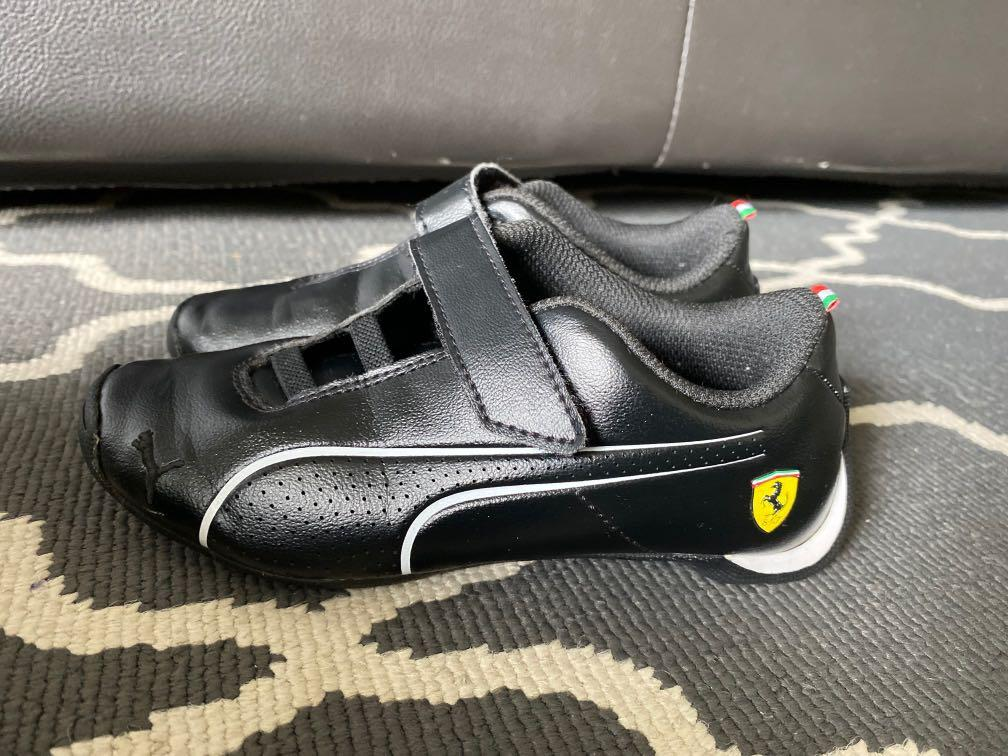 Kids Puma ferrari Shoes, Luxury, Shoes