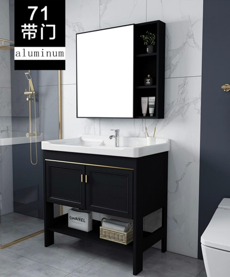 Luxury Bathroom Vanity Mirror Cabinet With Mixer Tap Set Furniture Home Decor Others On Carousell