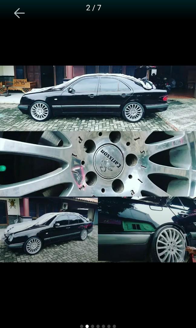 Mercedes W210 E230 Black AT Tahun 1998