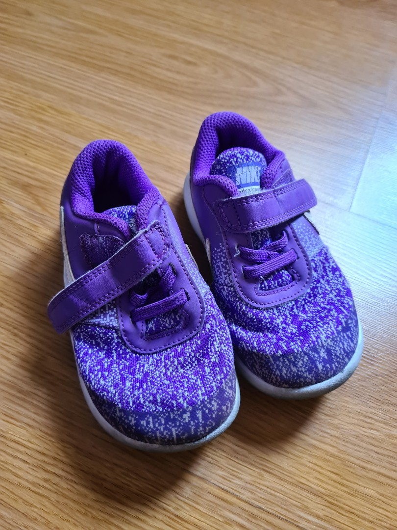 Nike Purple Rubber Shoes Kids (1-2 yos