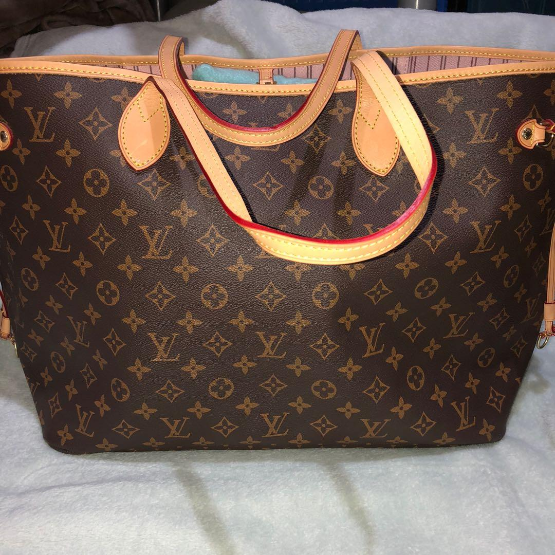Preloved Lv Neverfull Bag Luxury Bags Wallets On Carousell