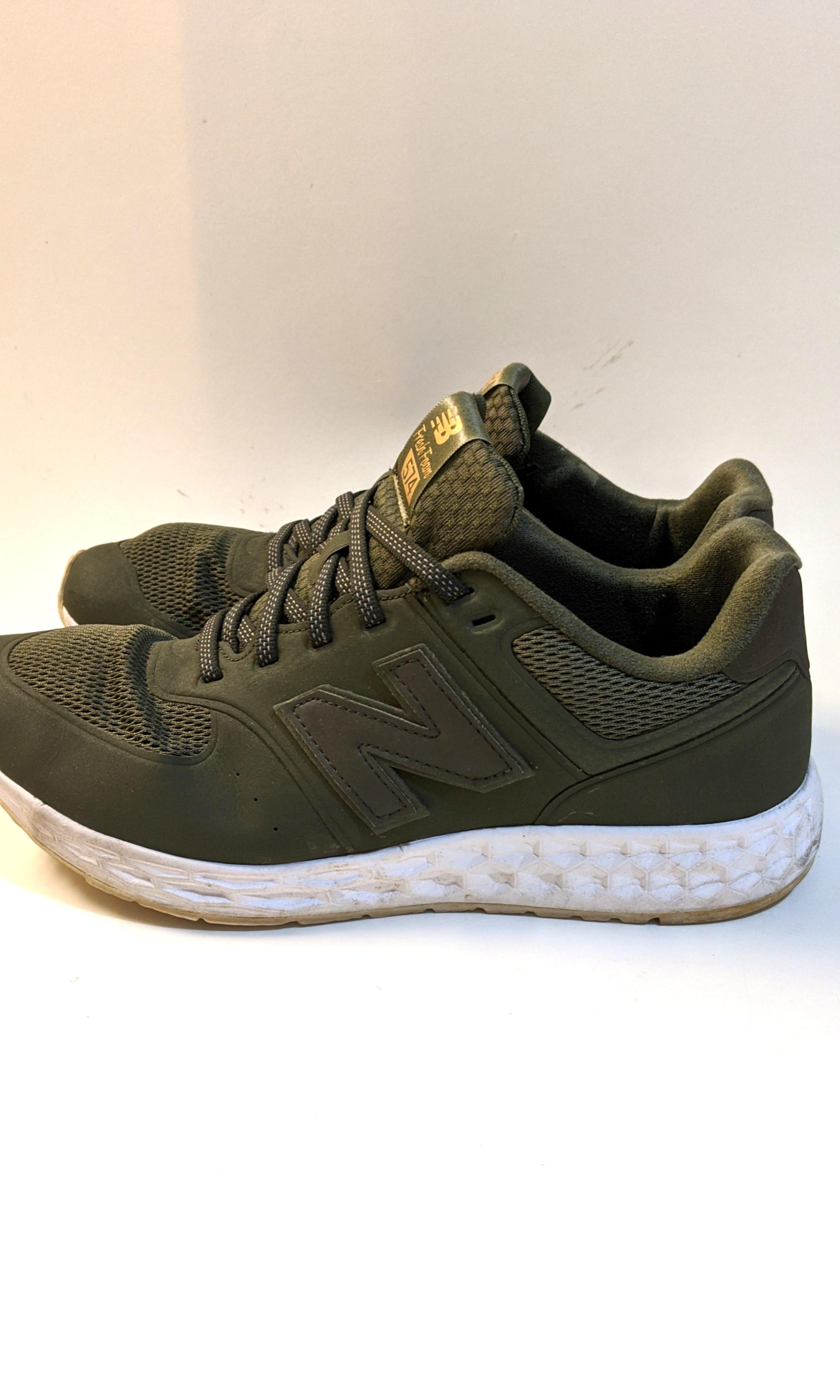 Balance 574 Army green sneakers