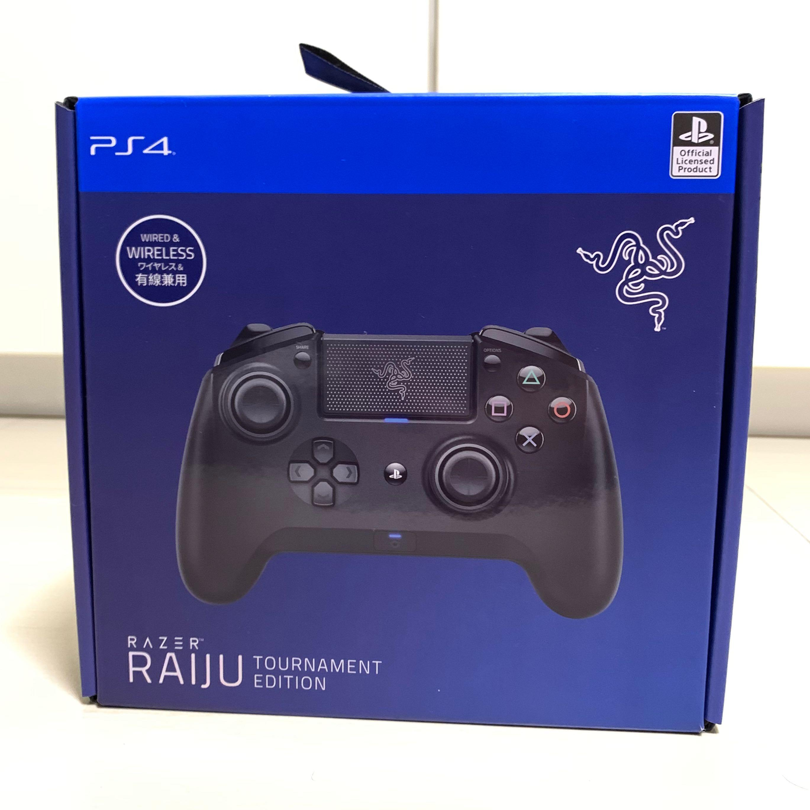 Razer Raiju Te Ps4 Pc Controller Toys Games Video Gaming Gaming Accessories On Carousell The razer raiju mobile is primarily based on its cousin from the same family, the raiju tournament edition made for playstation 4 similar to the raiju te and ultimate, it also has the rectangular box. carousell