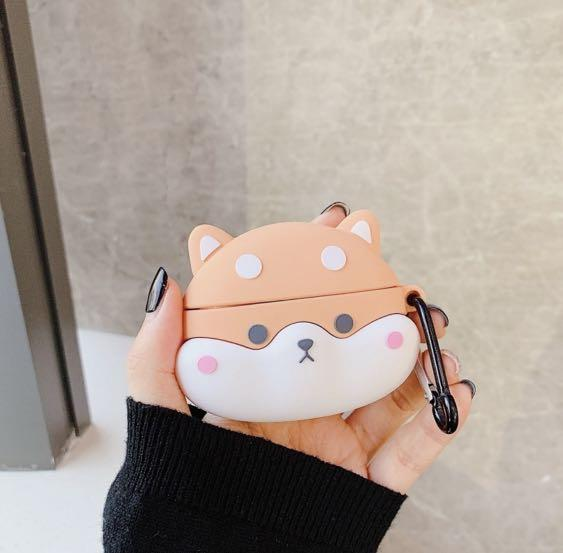 Cute Kawaii Shiba Dog Airpods Pro Case Mobile Phones Tablets