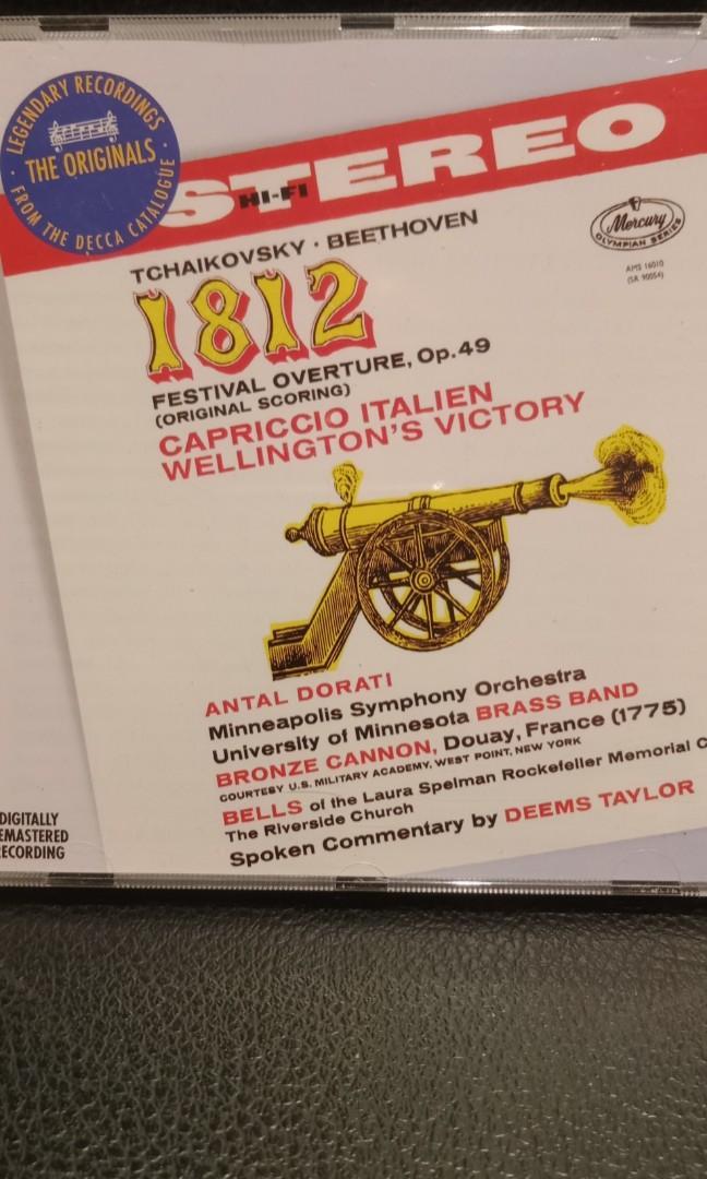 Tchaikovsky.Beethoven 1812交響樂