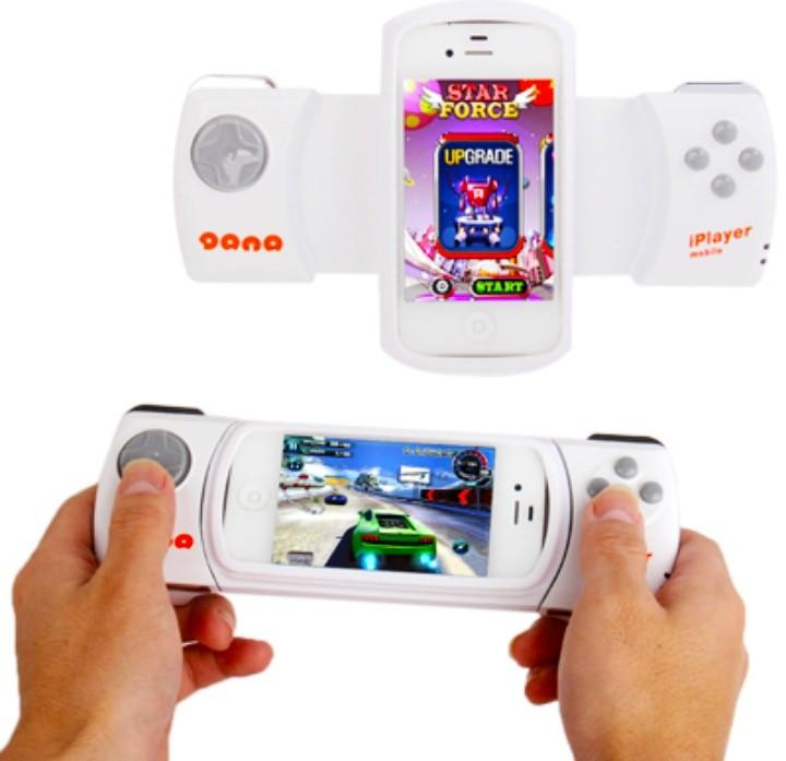 Wireless bluetooth game controller for iPhone 4 & 4S / ipod touch white