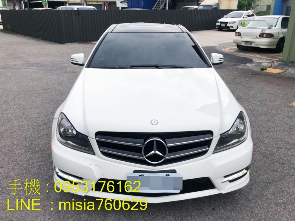 2011年7月 C250 Coupe AMG 白 1.8 / SUM聯盟認證 / 誠可議價