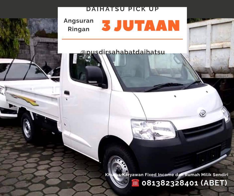 ANGSURAN MURAH Daihatsu Pick Up mulai 3,9 jutaan. Daihatsu Fatmawati
