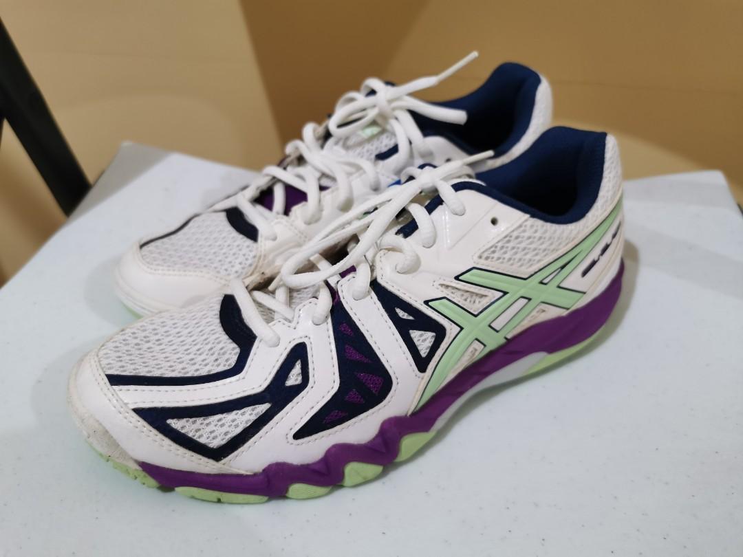 dos semanas consenso Transitorio  Asics Gel Blade 5 badminton shoes (US 7 / EU 38), Sports, Athletic & Sports  Clothing on Carousell