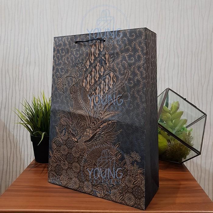 Batik Folio Motif Burung PAPERBAG (1 lsn) 24.5×9.5×35