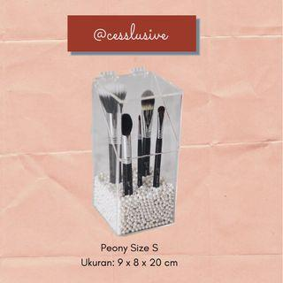 Brush Holder Acrylic Tipe Peony Size S