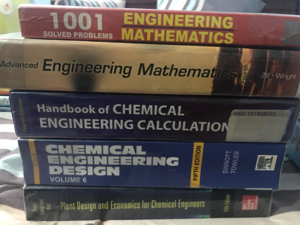Chemical Engineering Plant Design Books Books On Carousell