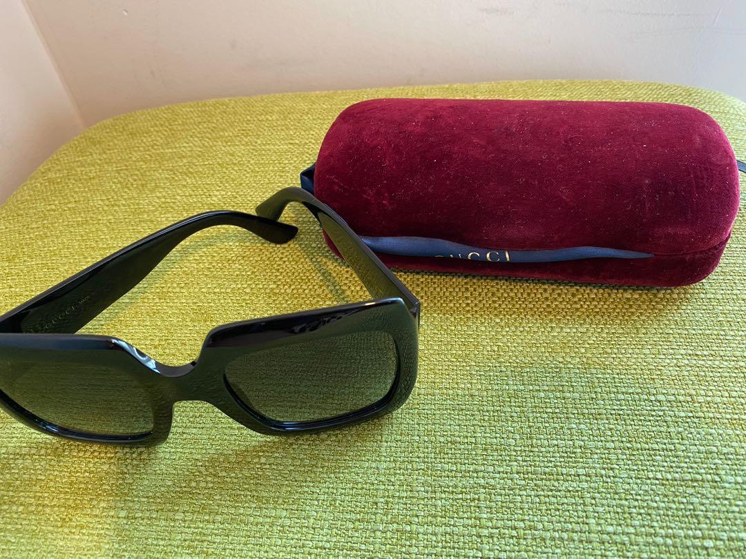 Gucci square frame Glasses Authentic