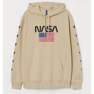 Hoodie H M Nasa Men S Fashion Clothes Outerwear On Carousell